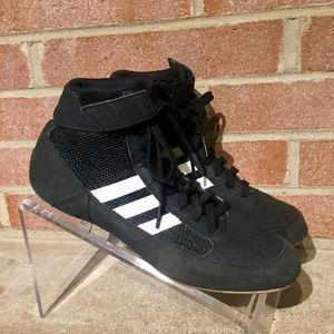 adidas Shoes - ADIDAS MEN BOYS WRESTLING BLACK PYA Sz 6